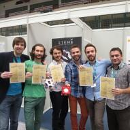 Marin Trošelj sa timom STEMI osvojio zlatnu nagradu na ARCA2015